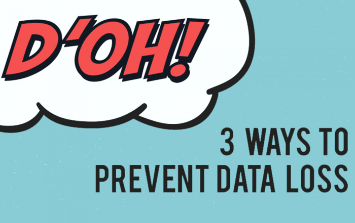 3 Ways to Prevent Data Loss and Unnecessary Head Loss