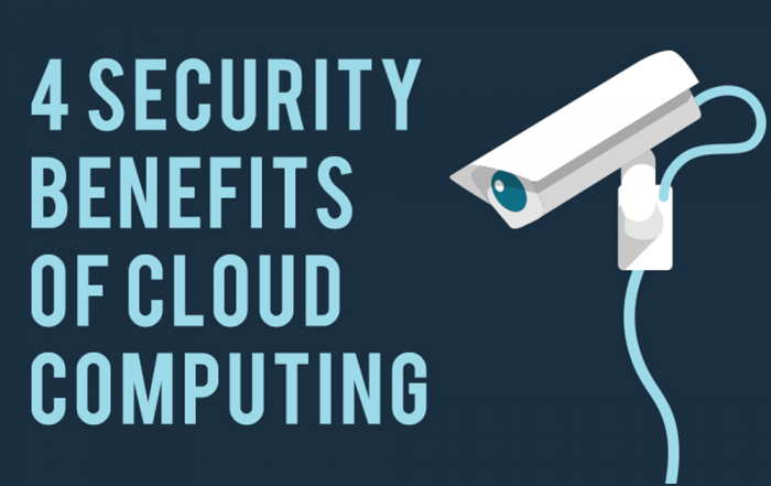 4 SECURITY BENEFITS OF CLOUD COMPUTING