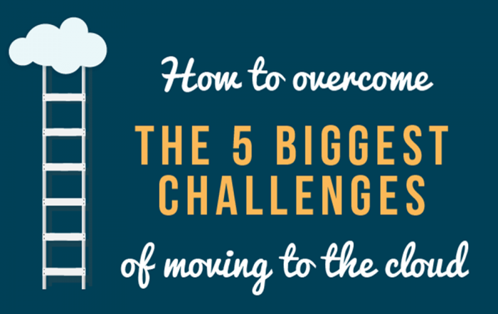 5 biggest challenges when moving your business to the cloud