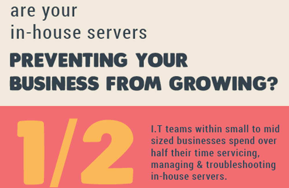 Are your in house servers preventing your business from growing