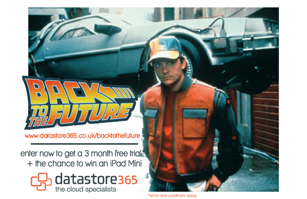 Back to the Future Prize Draw
