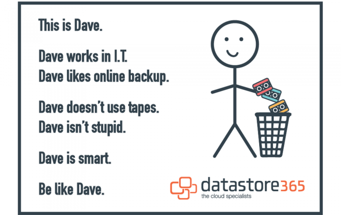 This is Bill's mate Dave Dave likes Online Backup Dave is Smart Be like Dave