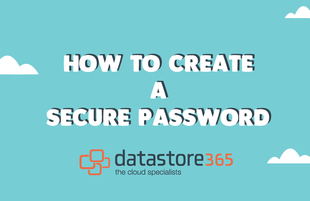 Tips on creating a secure password