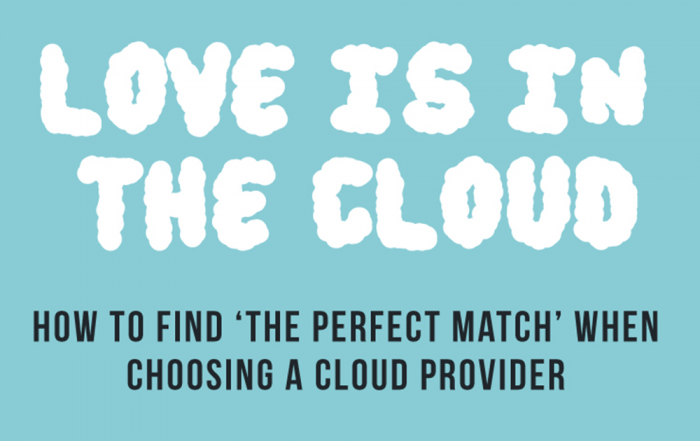 What to look for in a cloud provider